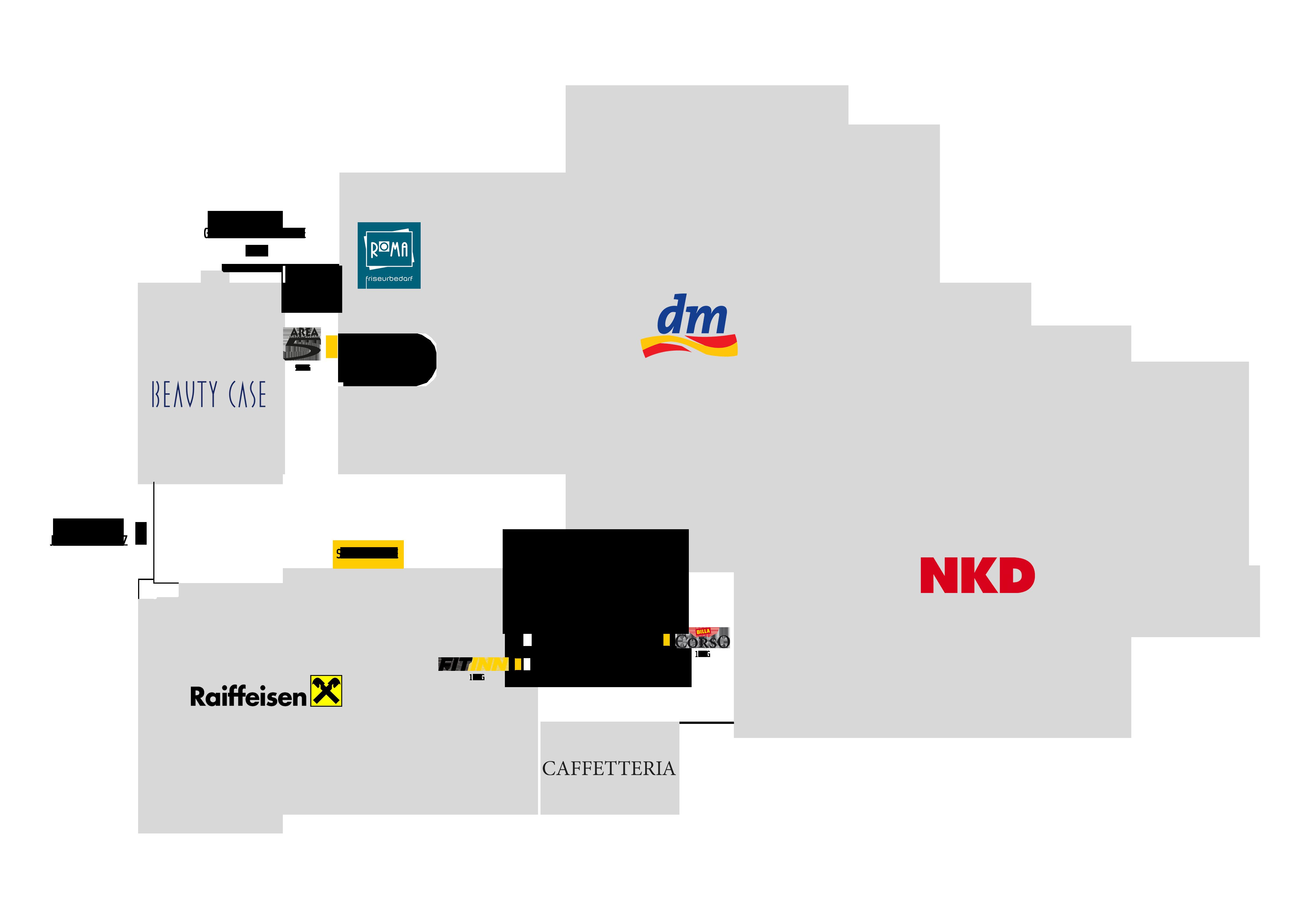 Steirerhof, Lageplan, Shops, Büros